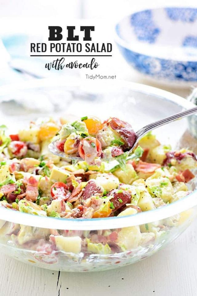 BLT Red Potato Salad
