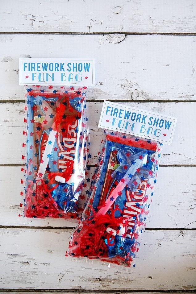 Fireworks Show Fun Bags