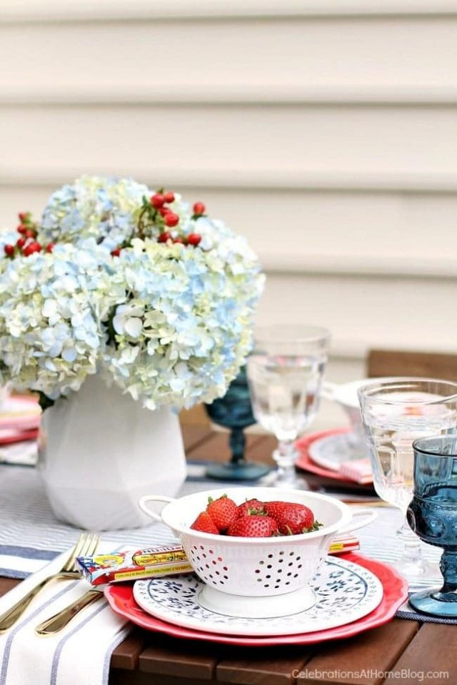 Red White and Blue Party Inspiration