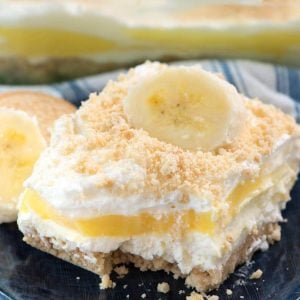 No Bake Banana Pudding Dream Dessert