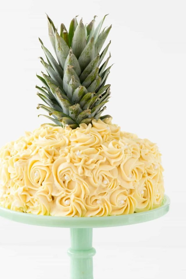 Pineapple Cake Decorating Tutorial Crazy For Crust