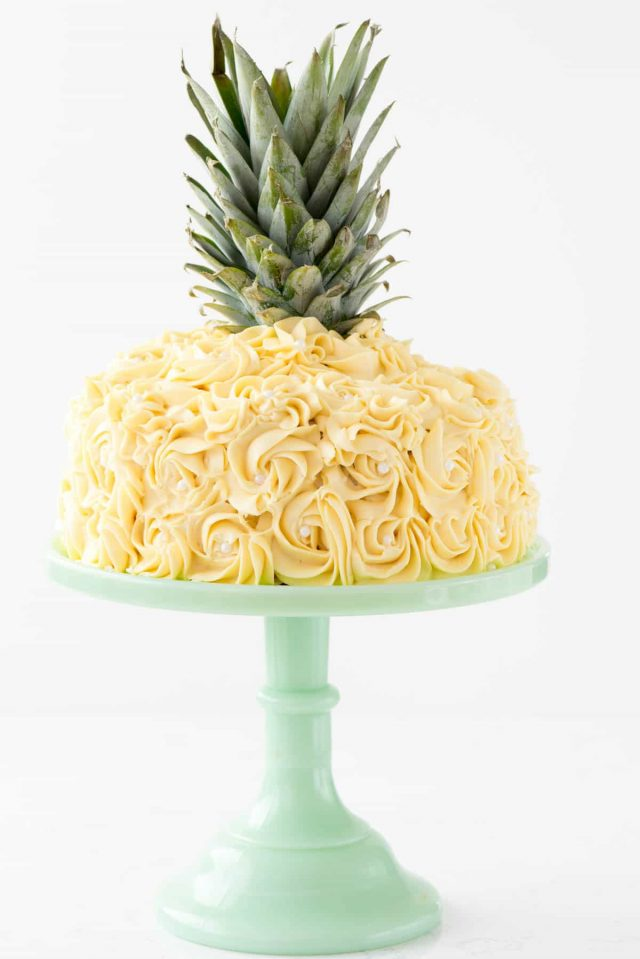 Pineapple Cake Cake Decorating Tutorial Crazy for Crust