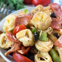 Pizza Tortellini Salad