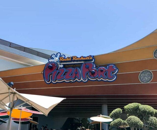 Redd Rockett's Pizza Port - Disney's Tomorrowland