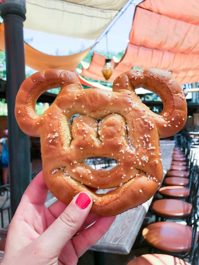 Mickey Mouse Soft Pretzel