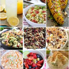 The BEST Summer Picnic recipes, ideas, printables, and more! This is the ultimate list for how to plan the perfect picnic. there are 13 images in the collage