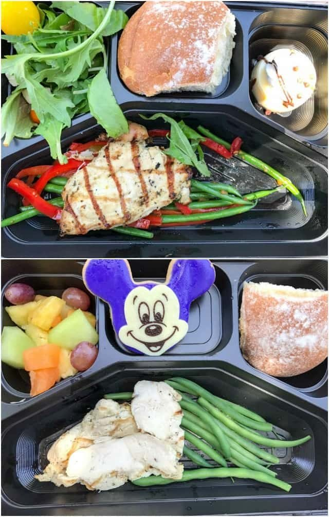 Aladdin's Oasis Grab 'n Go Meal, from Disneyland