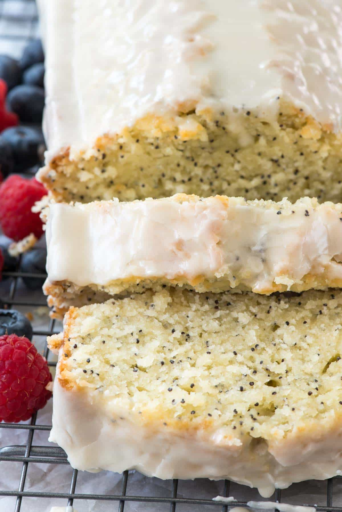 Almond Poppy Seed Loaf Cake Recipe