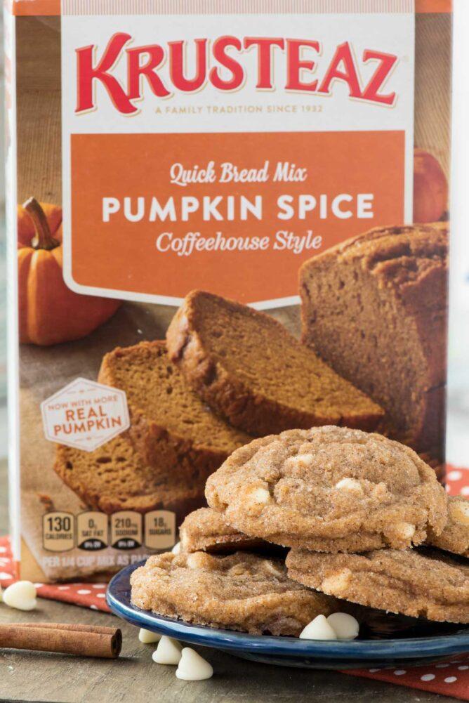Krusteaz Pumpkin Spice Bread Mix box