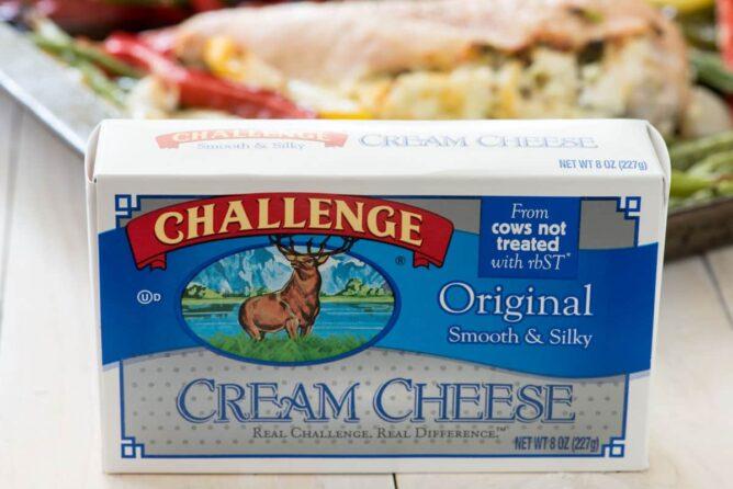 challenge cream cheese box