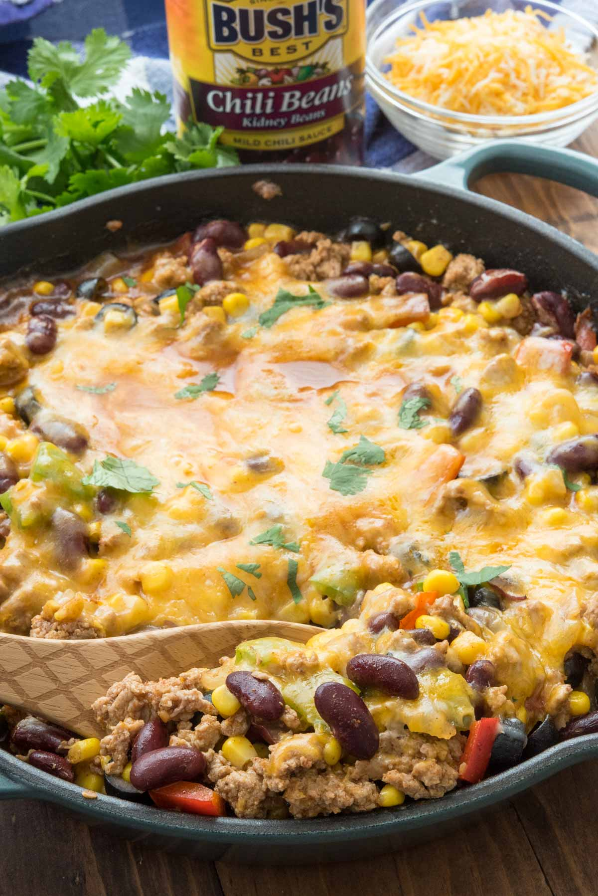 One Pot Taco Casserole Crazy For Crust