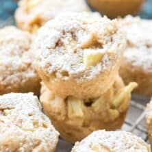 Apple Cheesecake Cookie Bites