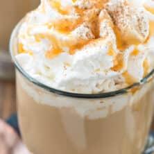 Spiced Pumpkin Latte drink