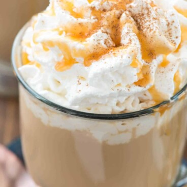 Spiced Pumpkin Latte drink