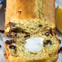 Cranberry Orange Quick Bread - this easy quick bread recipe is perfect for the holidays using orange and cranberry! Plus it's lower in added sugar!