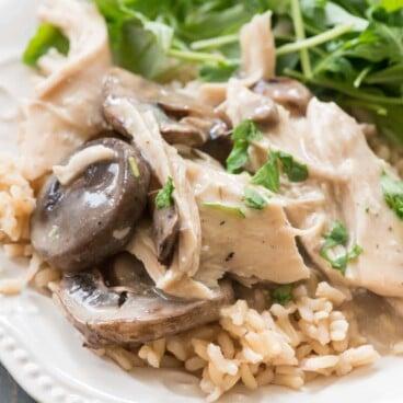 Crockpot Mushroom Chicken