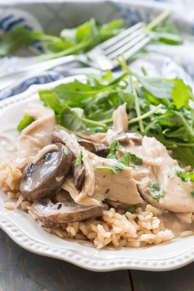 Crockpot Mushroom Chicken Recipe