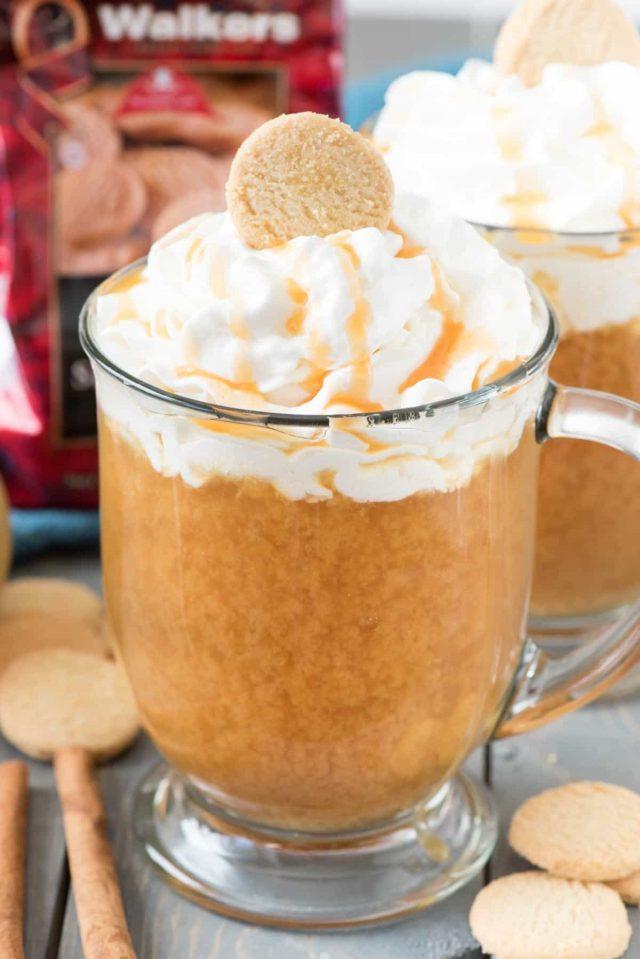 Spiked Crockpot Caramel Apple Cider Recipe