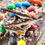 Pie crust candy bark