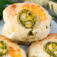 Quick to make Jalapeno Cheddar rolls