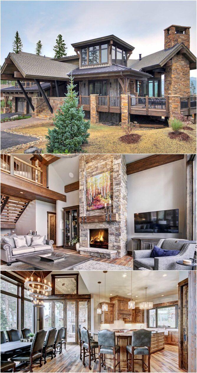 Collage of Cabin in   Breckenridge
