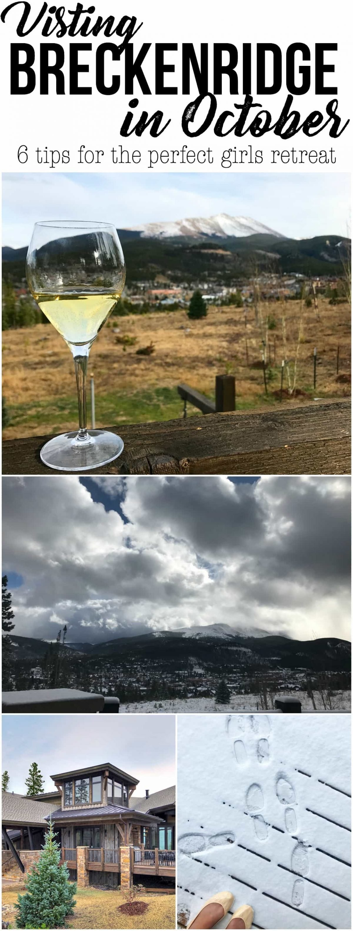 Thinking of visiting Breckenridge in October? Do it! These 6 tips for the perfect girls weekend will allow you to have the best time in Colorado, whether you like to ski or not.