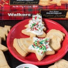 How to host a cookie decorating party easily using Walkers Shortbread!