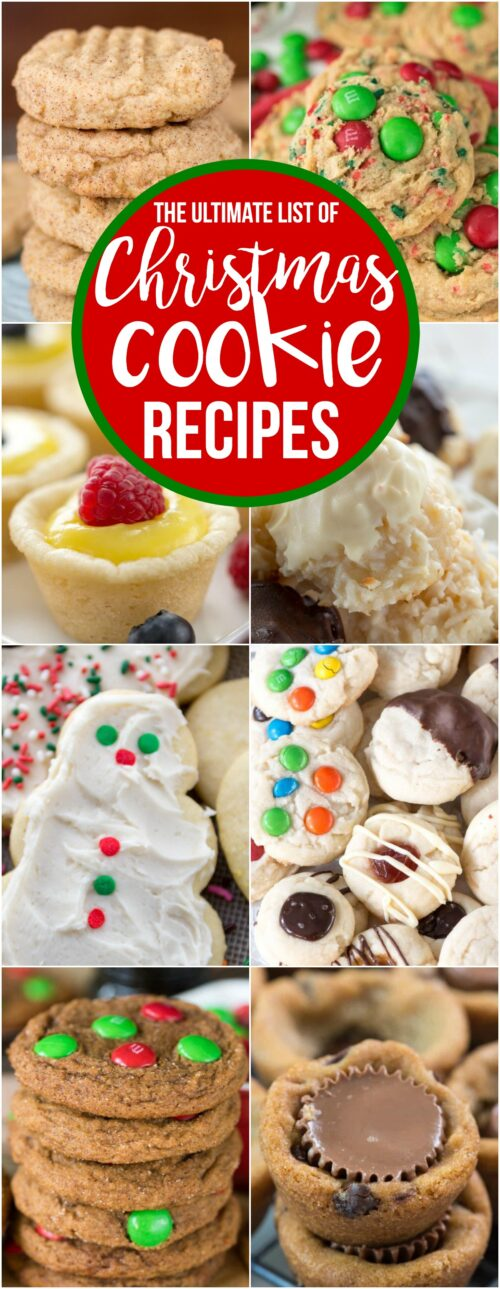 This is the ULTIMATE list of Christmas Cookies you'll need this year. There's something for everyone on this list, including tips and tricks for the best cookie gifting and storing.
