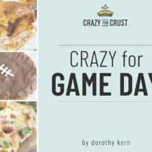 Collage of crazy for game day book cover