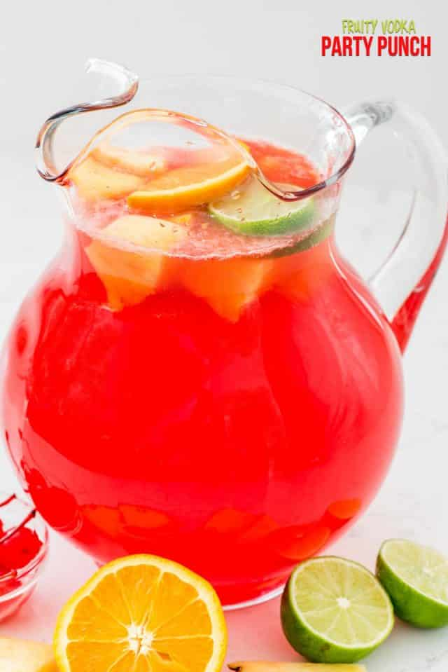vodka punch in pitcher photo