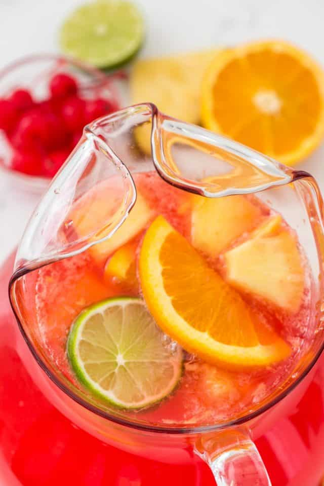 Fruity Vodka Party Punch Is The Perfect Tail Recipe For Any Filled With Fruit Lemon And Rum