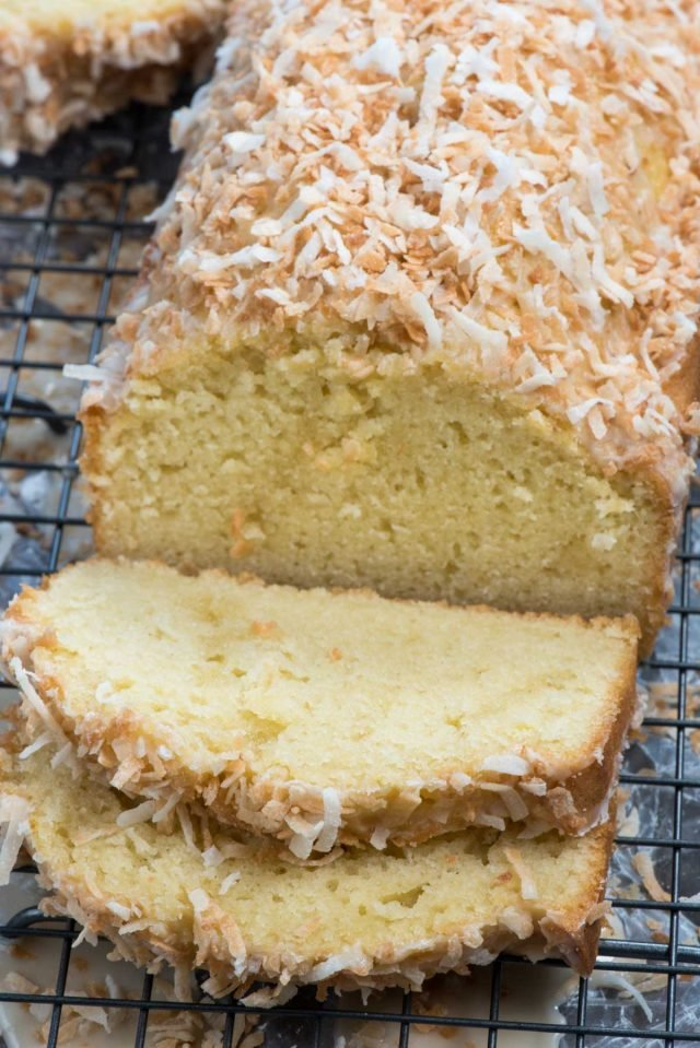 The perfect coconut pound cake recipe!