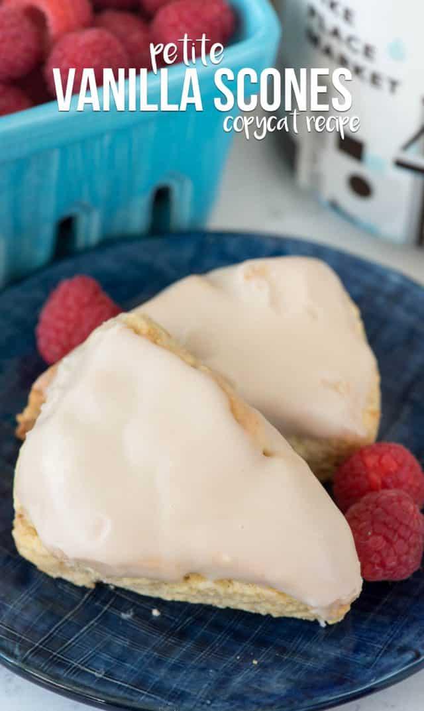 Starbucks Petite Vanilla Scones Copycat recipe