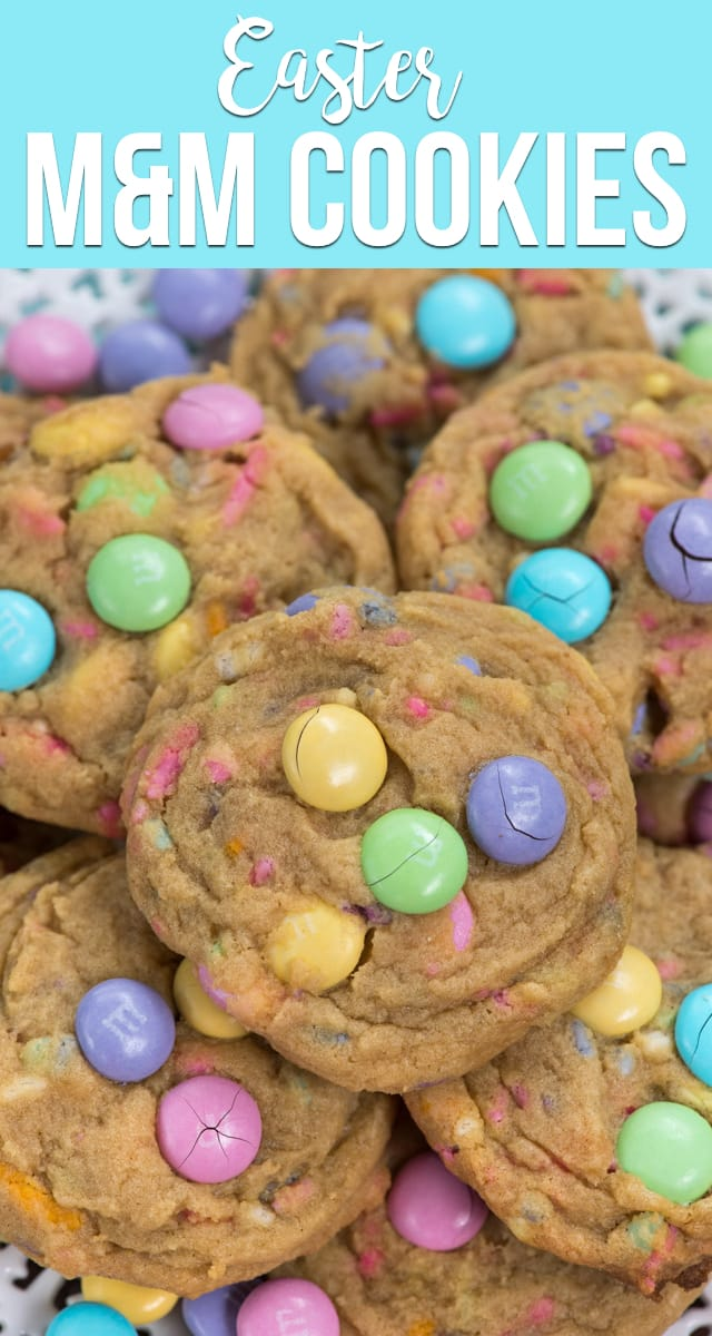 Easter M M Cookies Crazy For Crust