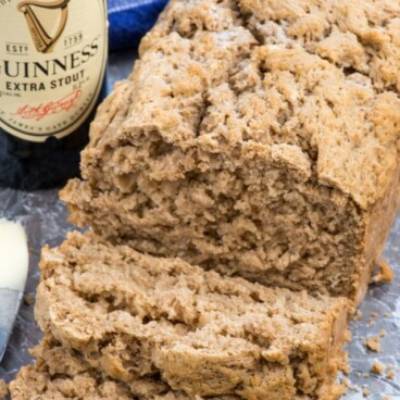 slices of beer bread
