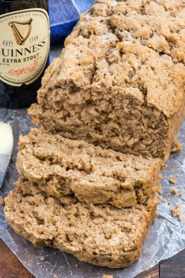 Easy 4 ingredient Guinness Beer Bread recipe