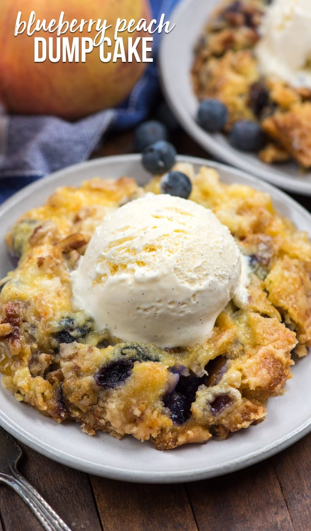 Easy Blueberry Dump Cake Recipes