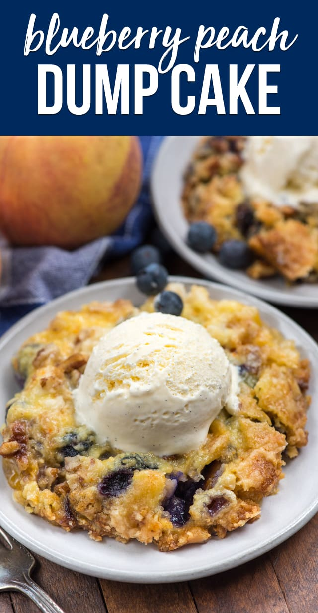 Berry Dump Cake Recipe Crazy For Crust