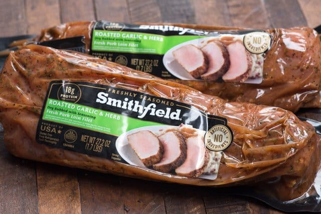 Smithfield Garlic and Herb Pork Loin