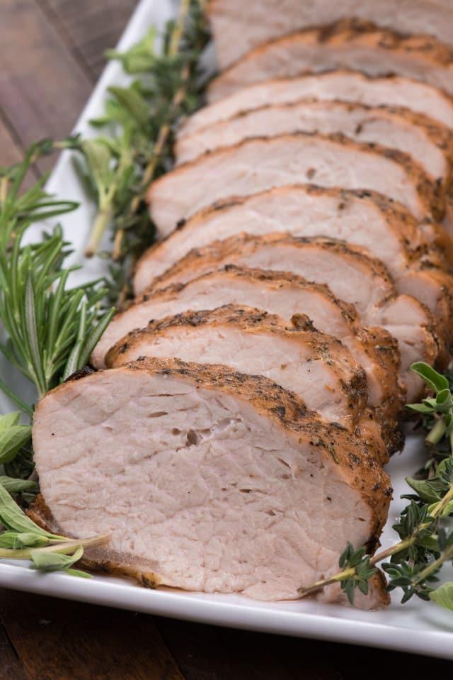 Garlic Herb Grilled Pork Loin Crazy For Crust