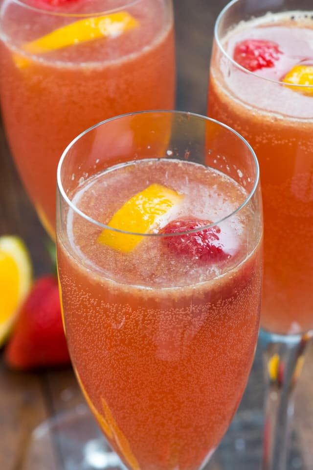 Pink Mimosa Punch Crazy For Crust