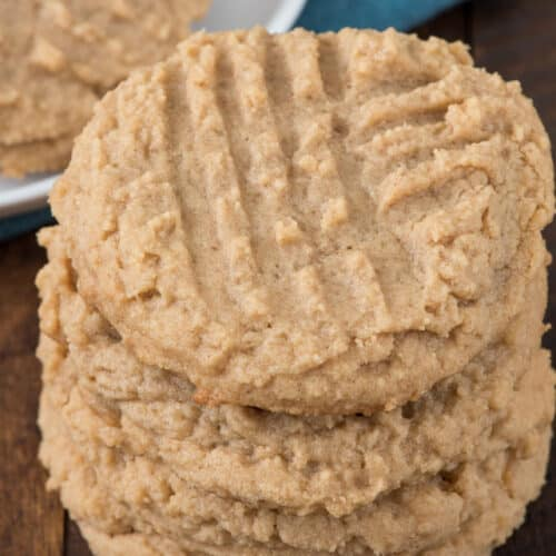 The Best Peanut Butter Cookie Recipe Crazy For Crust