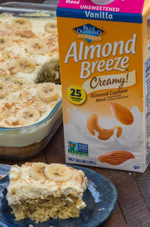 almond breeze container