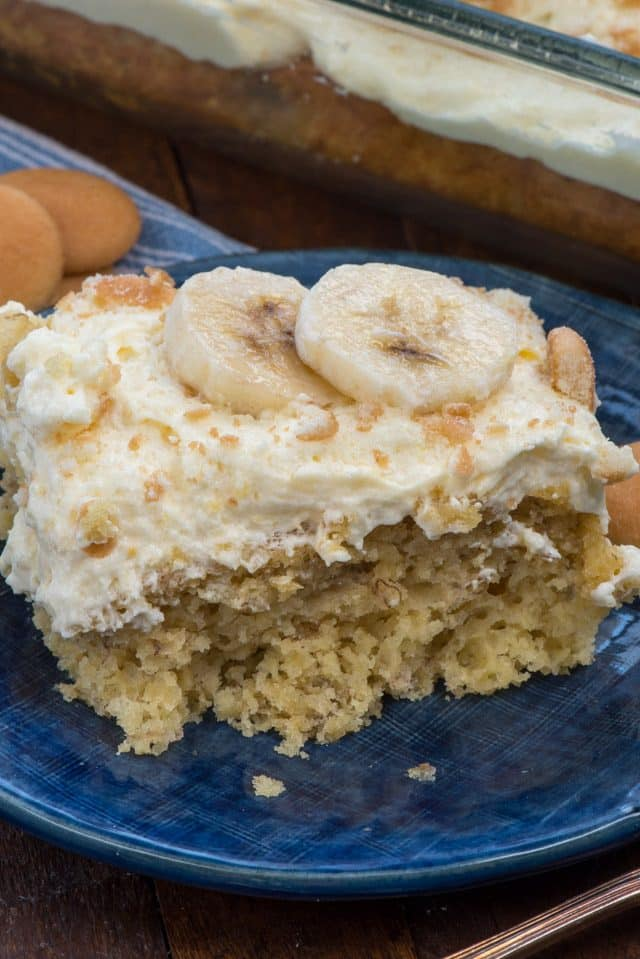 Banana Pudding Cake Crazy For Crust