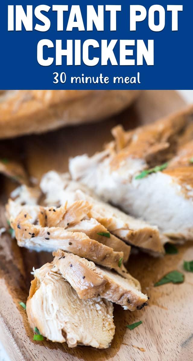 Instant Pot Chicken Recipe Crazy For Crust