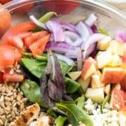 ingredients in Panera apple salad