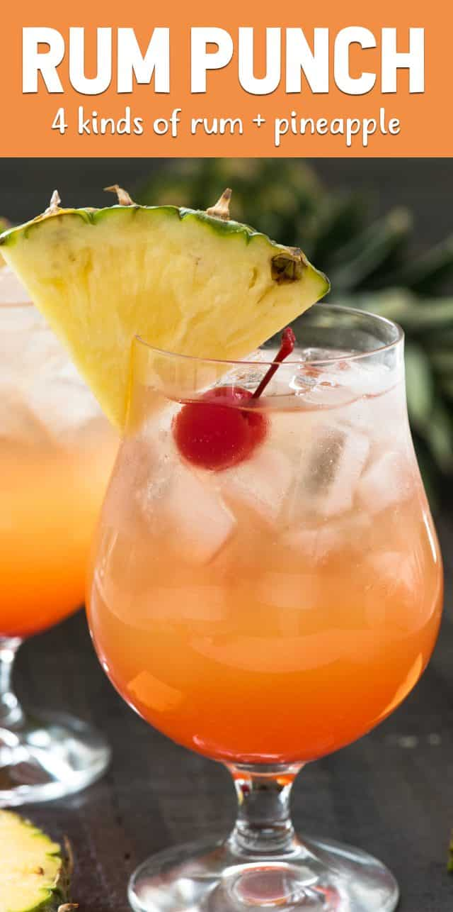 rum punch cocktail recipe