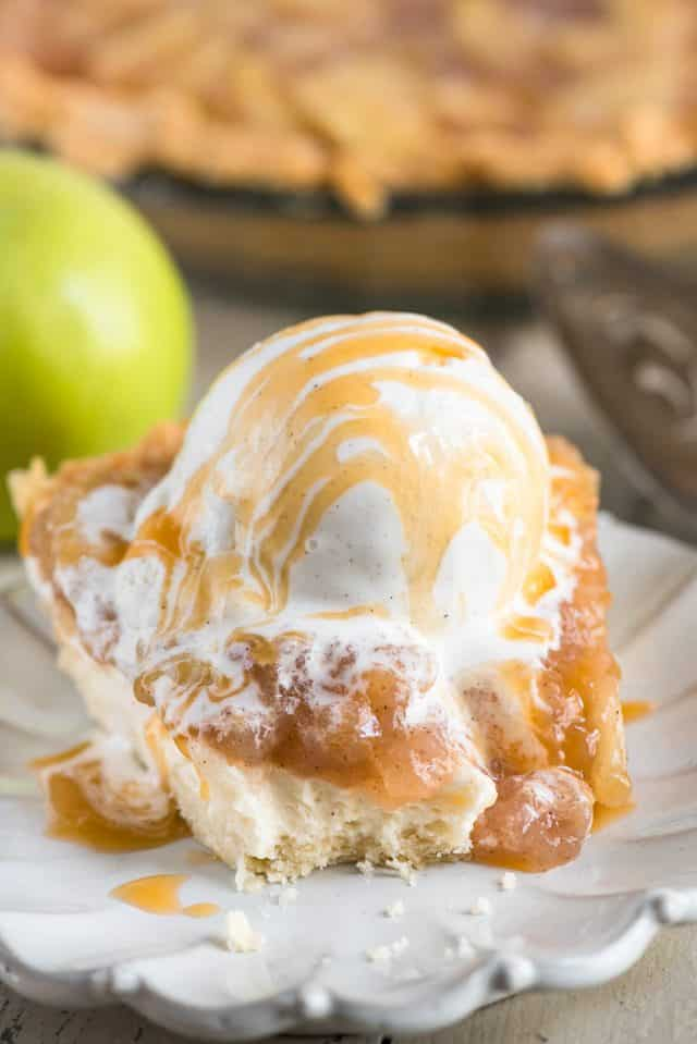 Cheesecake Apple Pie Recipe