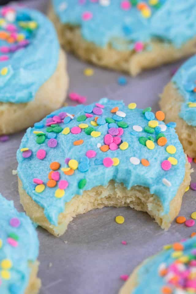 Lofthouse Sugar Cookie Sour cream sugar cookie with frosting