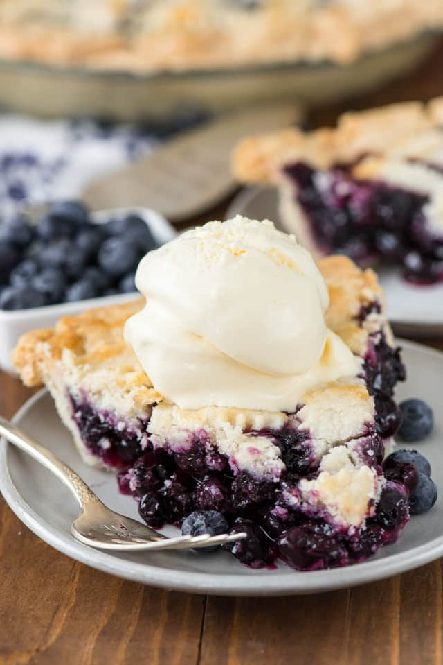 Blueberry Pie Recipe Crazy For Crust